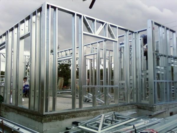 Casas de acero prefabricadas - Casas con estructura metalica ...