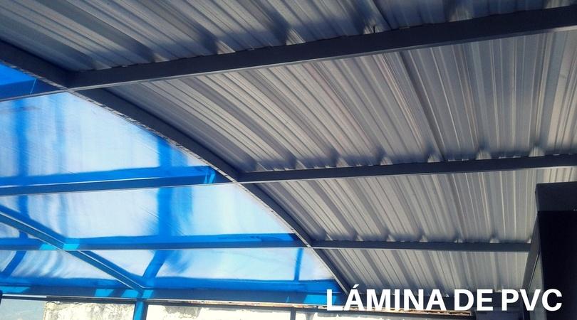 Laminas y aceros pvc