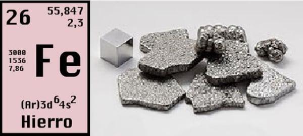 Láminas y aceros hierro