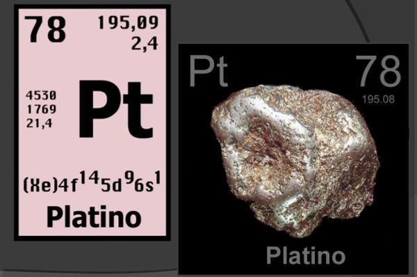 Láminas y aceros platino