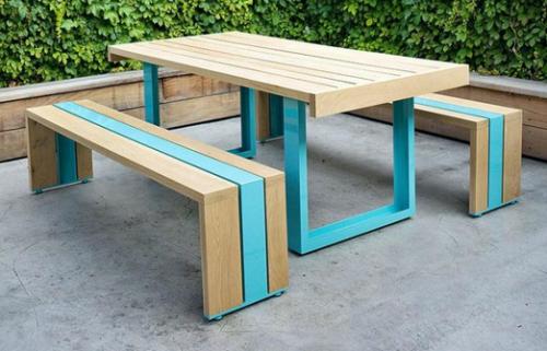 Laminas y aceros mesa picnic 1