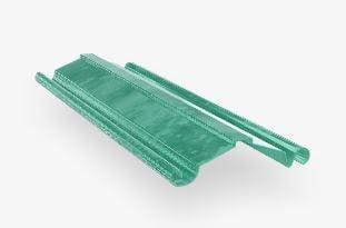 laminas y aceros perfil zintro cortina