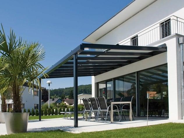 Estructuras De Acero Para Terrazas Y Jardines