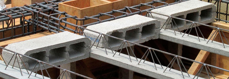 Vigas estructurales para bovedilla